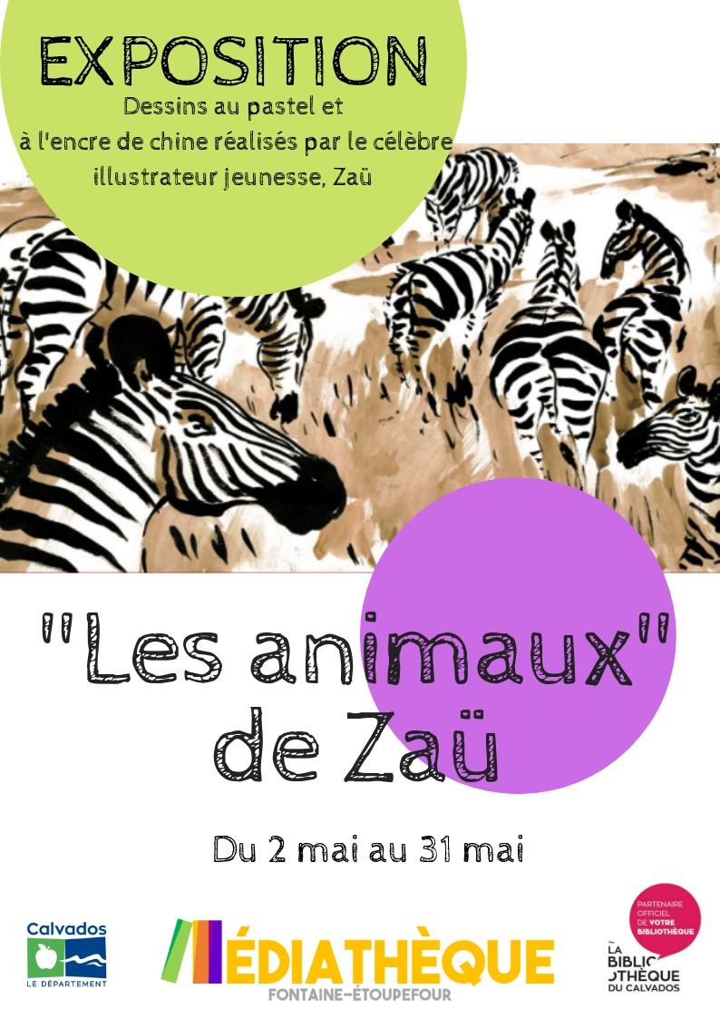 Exposition «Les animaux» de Zaü