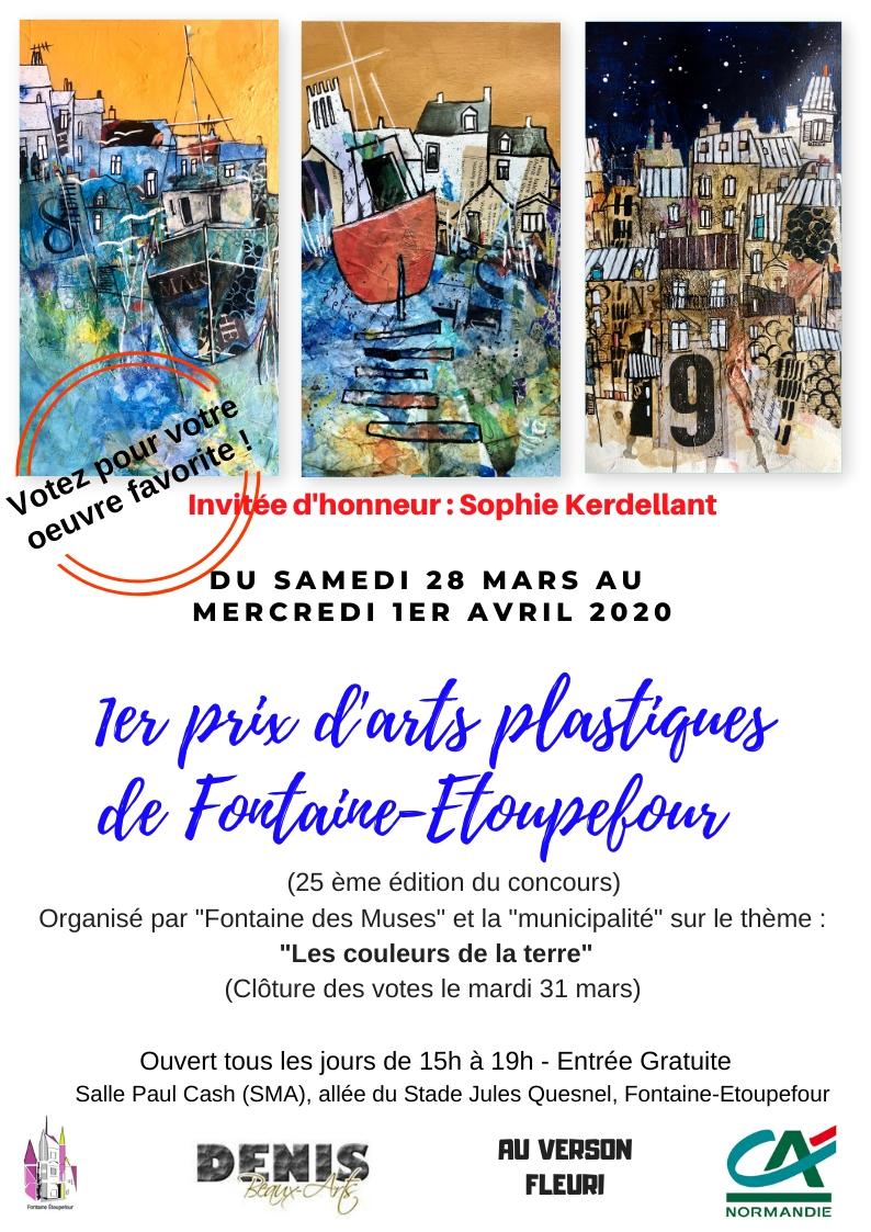 Exposition-concours 1er Prix d'Arts Plastiques