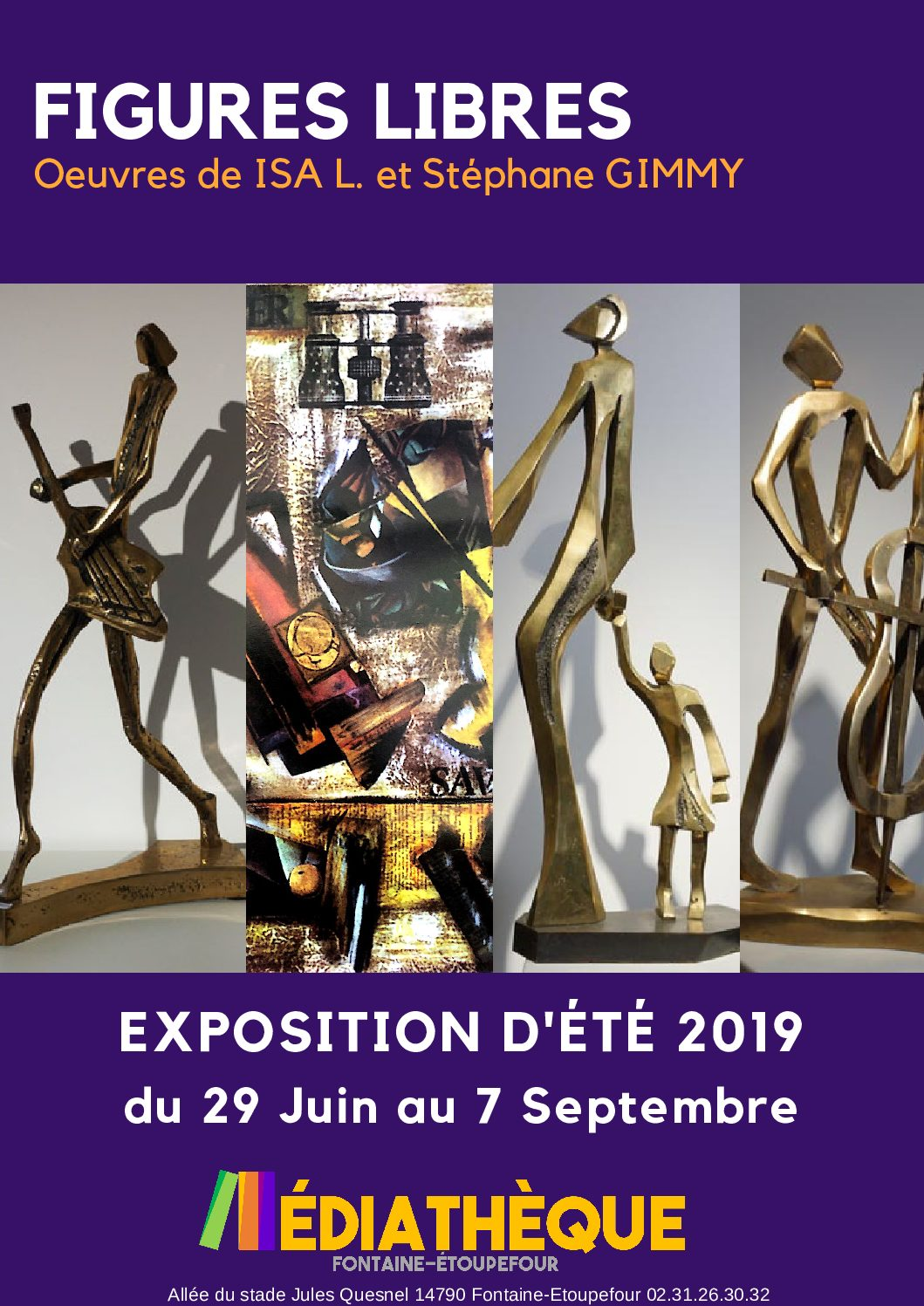 Exposition «Figures libres»