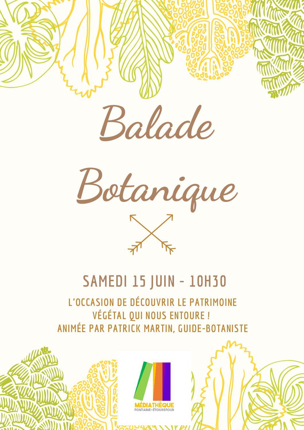 Ballade botanique