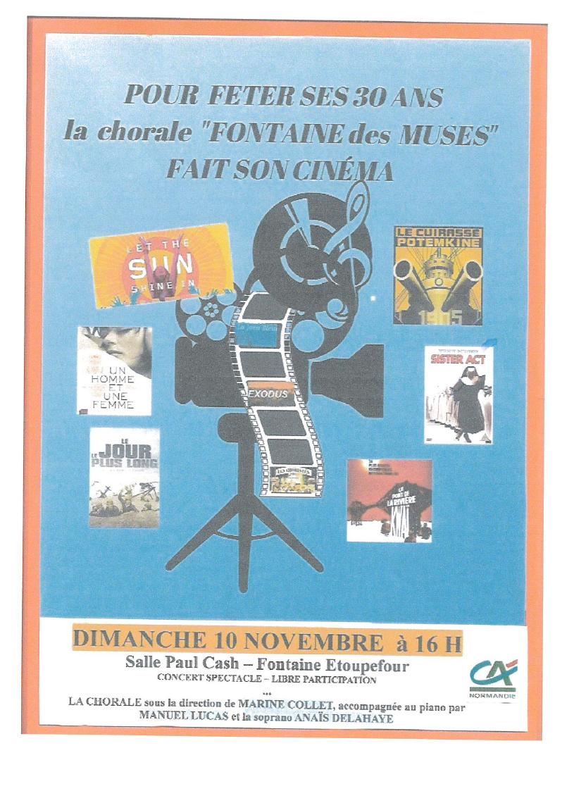 L' Association Fontaine des Muses fait son cinéma