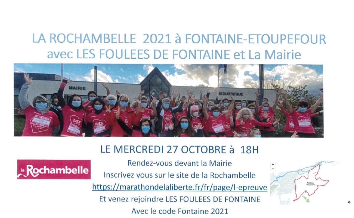 LA ROCHAMBELLE 2021 A FONTAINE !