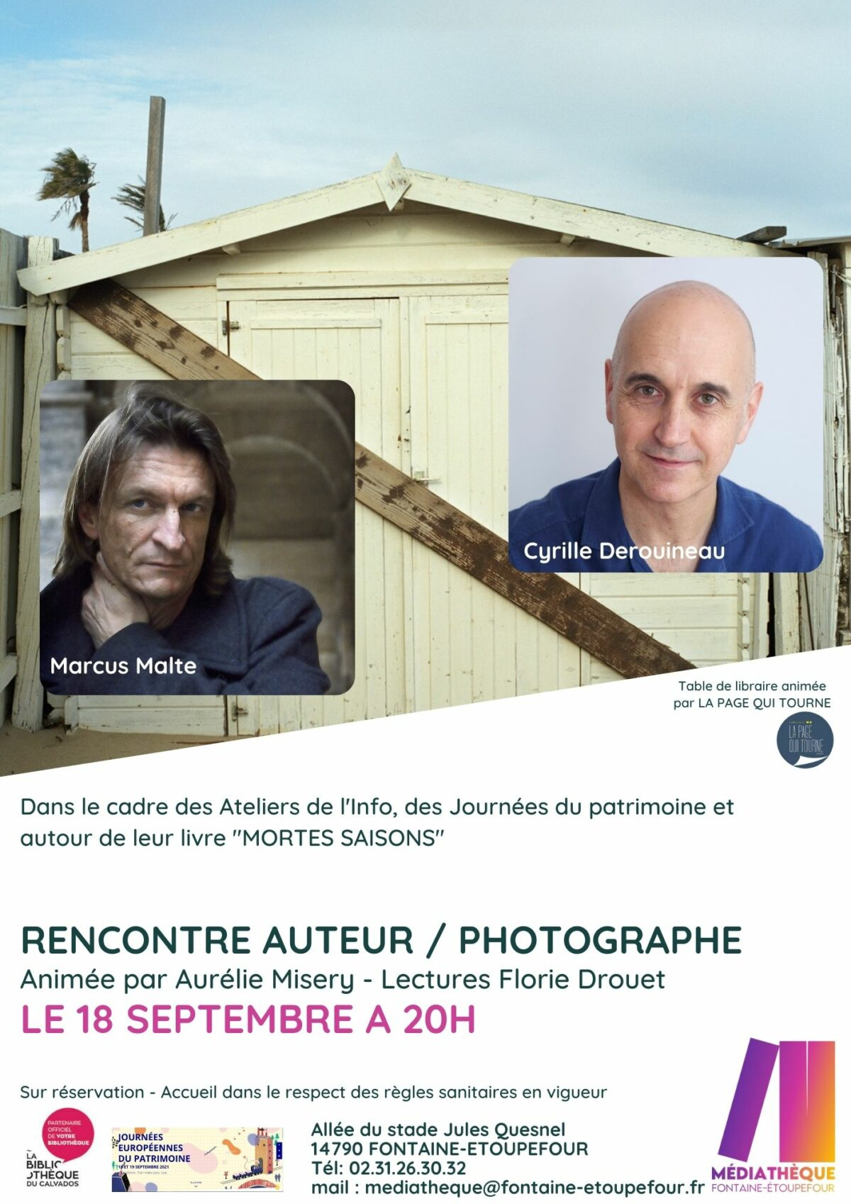 Rencontre auteur/photographe à la médiathèque